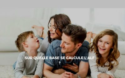 Les bases de calcul de l'Allocation de Logement Familial