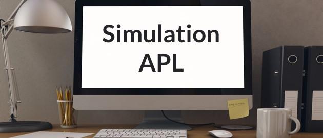 simulation APL